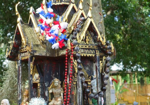 Shrine at Tampa Thai Temple