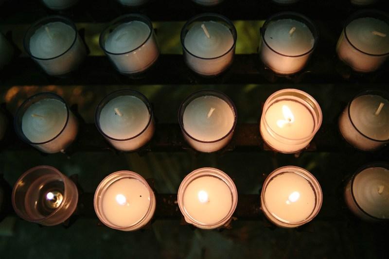 Wedding Church Candles - ADOS