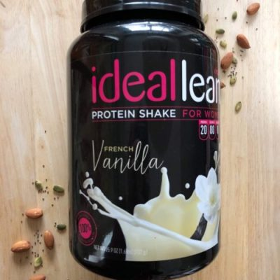 ideallean protein powder for women