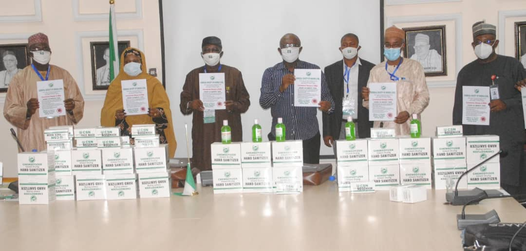 Chemical Society of Nigeria supports PTF in the fight against COVID-19