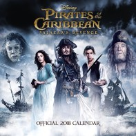 Pirates of the Caribbean 5 12x12 2018 Calendar (1)