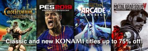 Konami - not available in all regions, please check availability in your region