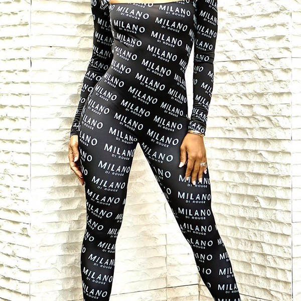 Lovely Trendy Hollowed-out Black One-piece Jumpsuit 2