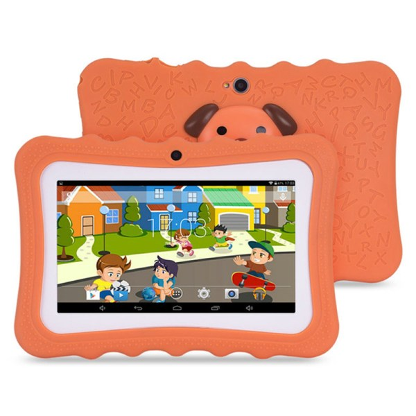 Kawbrown KB-07Tab 7 Inch Android Tablet with Protective Case 512MB RAM 4GB  Orange_512MB+8GB 2