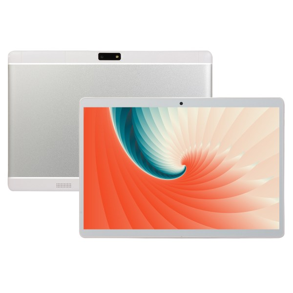 10.1 Inch HD Game Tablet Computer PC Android 8.0 6+64GB Dual Camera Tablet White UK plug 2