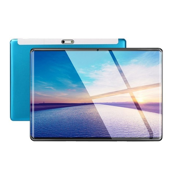 10.1 Inch Tablet 2.5D Screen Android 8.0 IPS Screen 6+64GB PC Blue EU plug 2