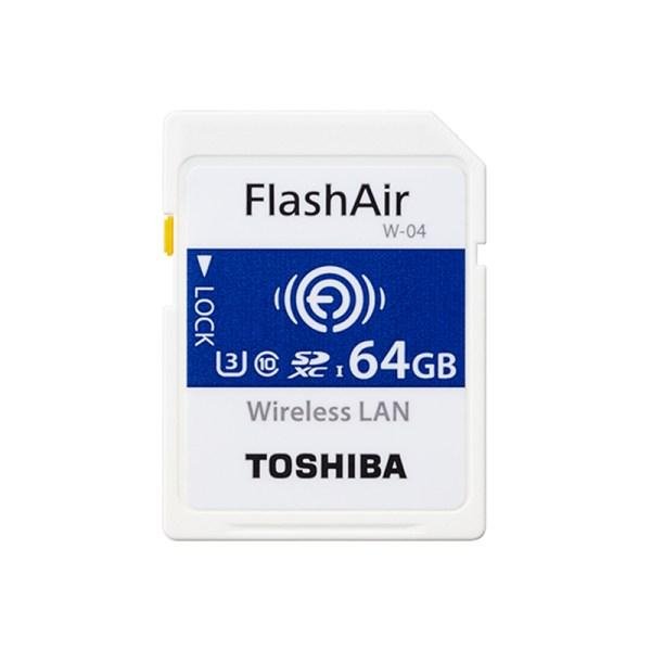 TOSHIBA Flash Air W-04 Memory Card 64GB WiFi SD Card 90MB/s Wireless SDHC Memory Card for Camera 2