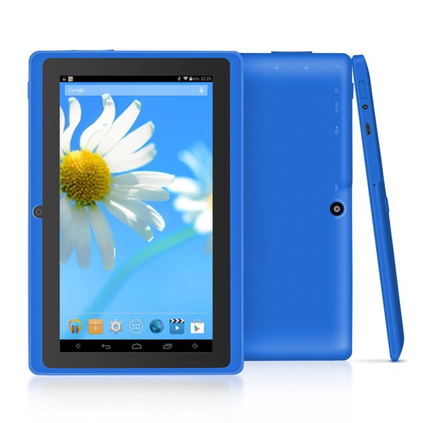"7"" Wifi 1024*600 Screen Tablet PC 512+8 EU Standard 3-axis Gravity Induction Tablet PC blue_European regulations 2"