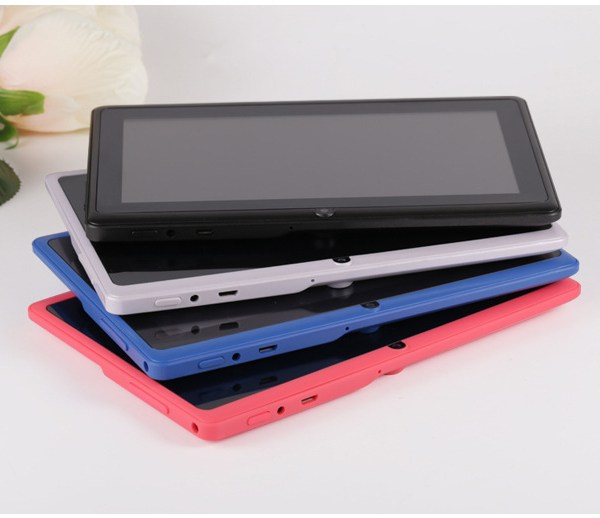 7 inch Tablet PC 1024x600 HD Yellow_512+4G 2