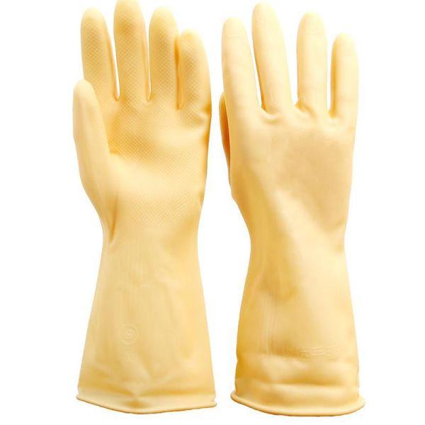 Latex Dishwashing Gloves 2