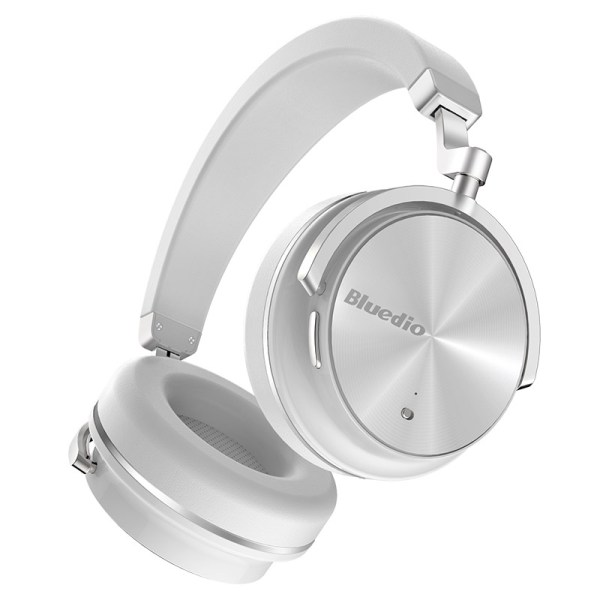 Bluedio T4 Active Noise Cancelling Wireless Bluetooth Headphones Headset with Microphone for Phone White 2