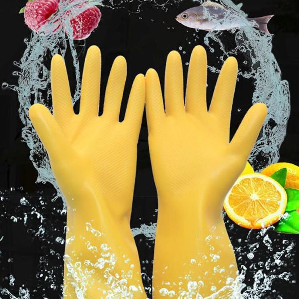 Latex Household Cleaning Gloves 2