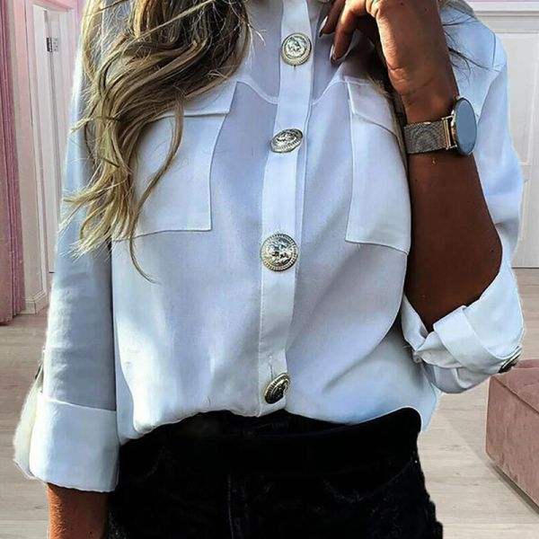 Long Sleeve Buttoned Design Shirt 2