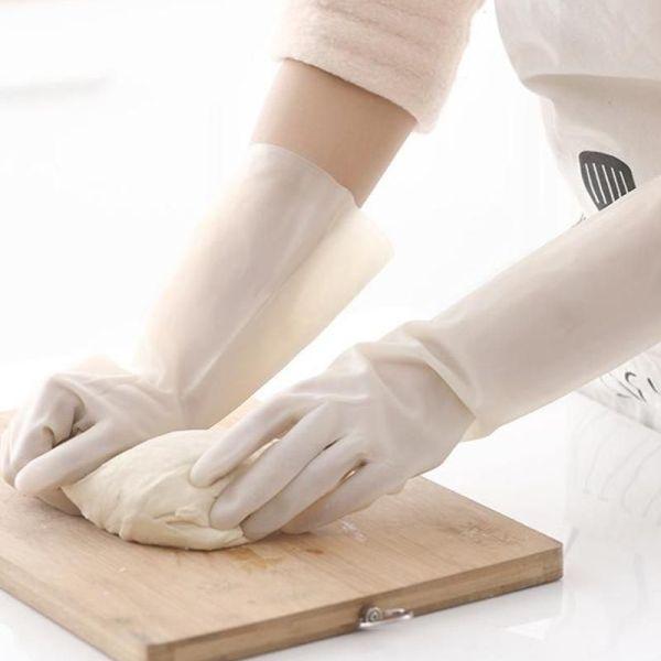 Rubber Waterproof Kitchen Glove 2