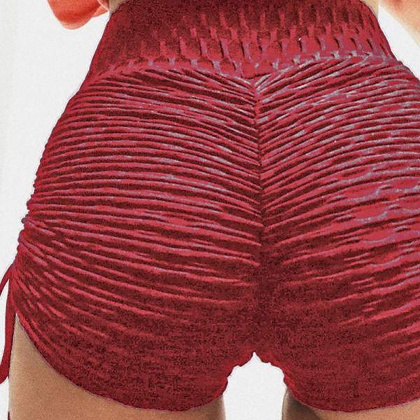 High Waist Ruched Shorts 2