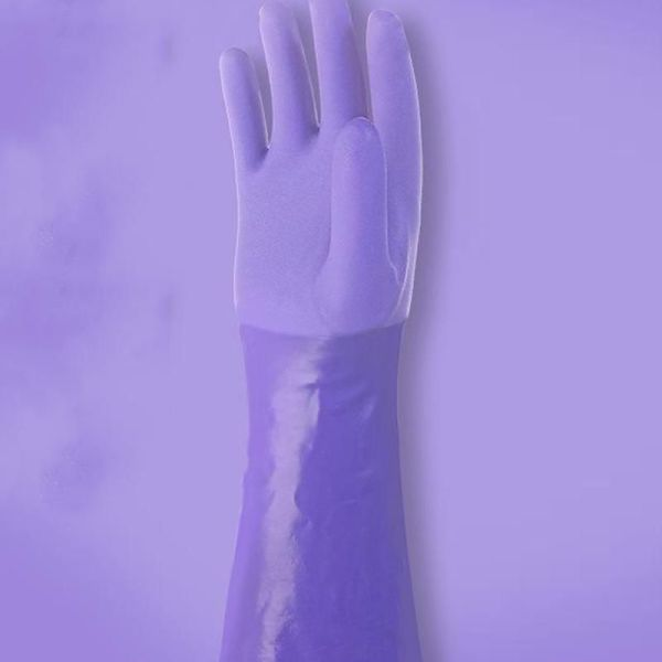 Lined Rubber Gloves 2
