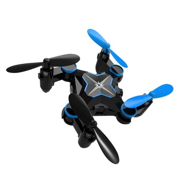 Folding Four Axis Aerial Photography Mini Drone Aircraft Toy - WiFi Real-time Version (Blue) 2