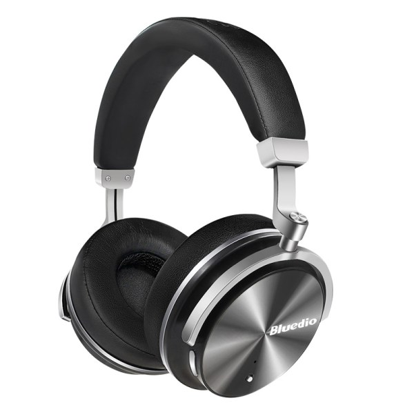 Bluedio T4 Active Noise Cancelling Wireless Bluetooth Headphones Headset with Microphone for Phone Black 2