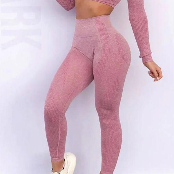 High Elastic Fitness Sport Gym Leggings Yoga Pants 2