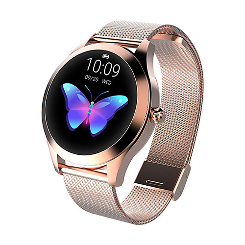 KW10 Smart Watch BT Fitness Tracker Support Notify/Heart Rate Monitor Sport Stainless Steel Bluetooth Smartwatch Compatible IOS/Android Phones 2