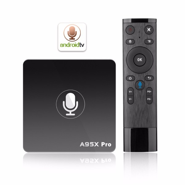 Quad-core Mali-450 GPU A95X PRO TV BOX 2G+16GB black_Australian Standard 2G+16GB 2