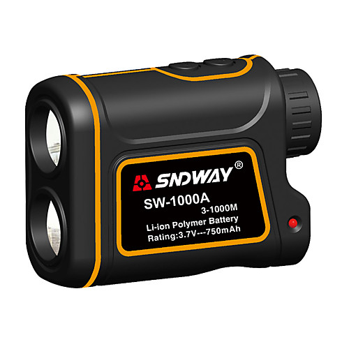 SNDWAY SW-600A/1000A/1500A Telescope Laser Rangefinder 600m/1000m/1500m with Speed Difference Measuring Function With Height Difference Measuring Function Waterproof Dustproof Optical 7 Times 2