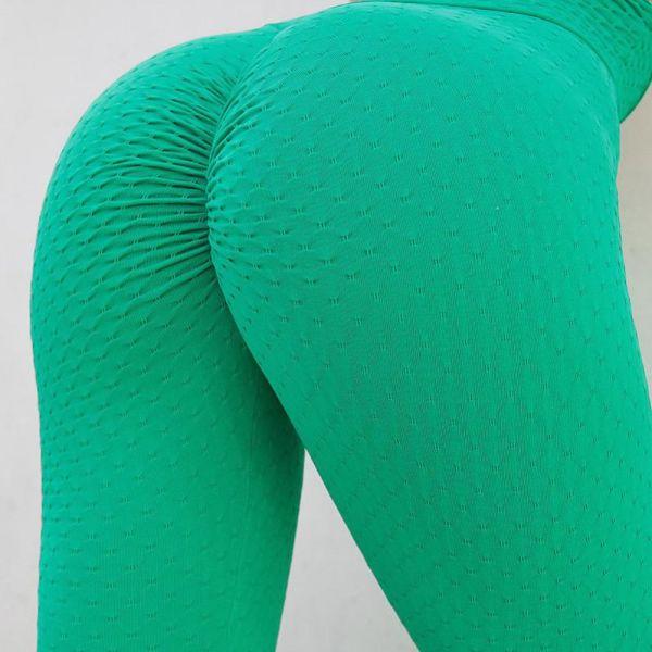 High Waist Ruched Yoga Legging 2