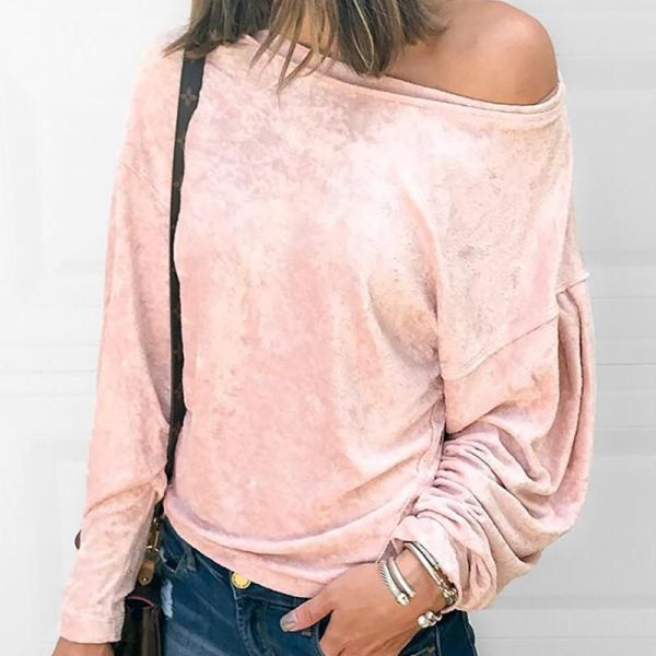 Long Sleeve Fluffy Casual Blouse 2