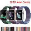 Nylon Strap For Apple Watch band 44mm 40mm 42mm 38mm Sport Loop Belt Bracelet For Apple Watch Series 5/4/3/2/1 Accessories 3