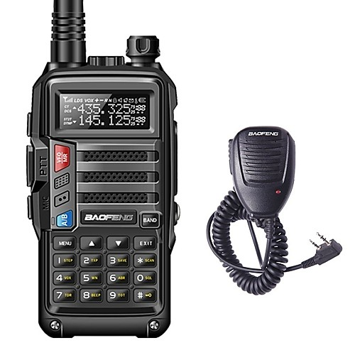 BAOFENG BF-UVS9 Handheld Low Battery Warning / PC Software Programmable / Voice Prompt 5KM-10KM 5KM-10KM 3800 mAh 8 W Walkie Talkie Two Way Radio 2