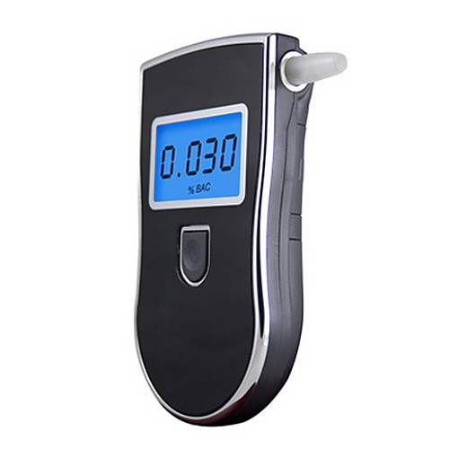 Portable Digital LCD Alcohol Breath Tester 818 Direct Testing Process LCD Indication LCD Display Audio Warning Low Woltage Indication Auto Power Off 2