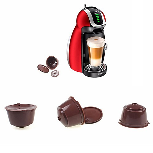 Reusable Capsule  for Dolce Gusto Coffee Nescafe Refillable Use 150 Times 2