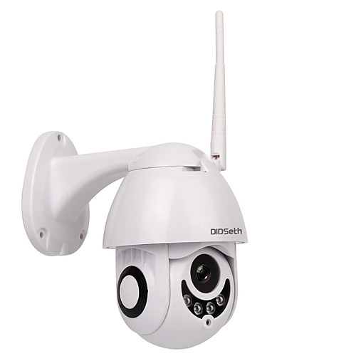DIDSeth 1080P 2MP Outdoor WiFi PTZ Camera Dome IP Camera Wireless Security Camera Support 128 GB 3.6mm Lens Two Way Audio IP66 Waterproof Onvif Protocol Motion Detection 2