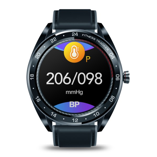 Zeblaze NEO Series Touch Display Smartwatch - Heart Rate, Blood Pressure, Health CountDown, Call Rejection, IP67 - Black 2