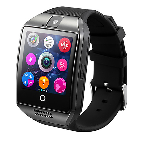 Q18 Smart Watch BT Fitness Tracker Support Notify/ Heart Rate Monitor/ Hands-Free Calls with Camera & SIM-card Slot Sports Smartwatch Compatible Samsung/ Android/ Iphone 2