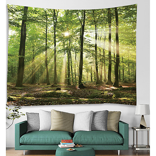 Architecture Wall Decor Polyester Vintage Wall Art, Wall Tapestries Decoration 2