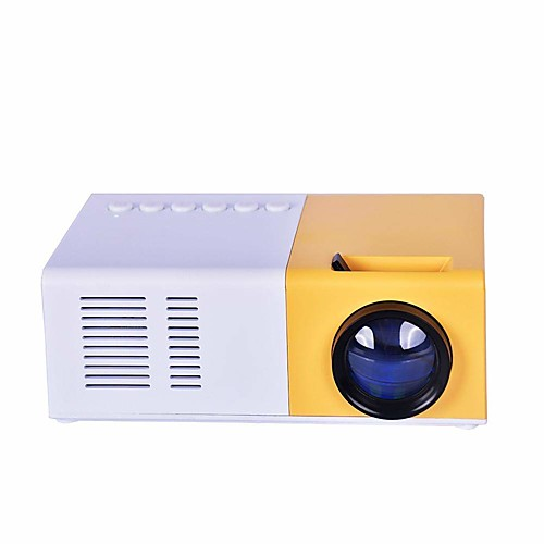 J9 Mini Projector 1080P HD Projector Ultra Portable Projectors LED Pico Projector Support Cell Phone Home Theater Cinema Multimedia with VGA Cable USB HDMI 2