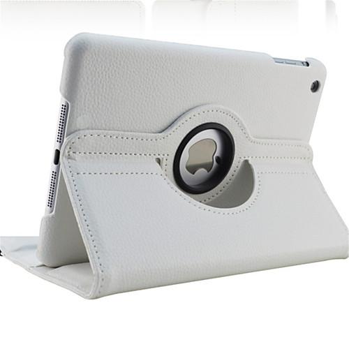 Case For Apple iPad Mini 5 / iPad New Air(2019) / iPad Air 360° Rotation / with Stand / Auto Sleep / Wake Full Body Cases Solid Colored Hard PU Leather / iPad (2017) 2