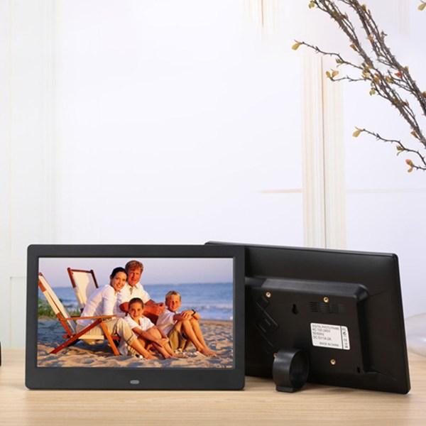 10.1 Inch Widescreen Digital Photo Frame Black EU Plug 2