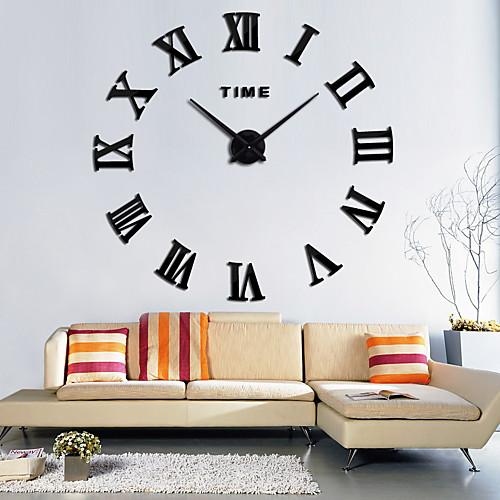 Modern Contemporary Wood / Plastic AA Decoration Wall Clock No 2