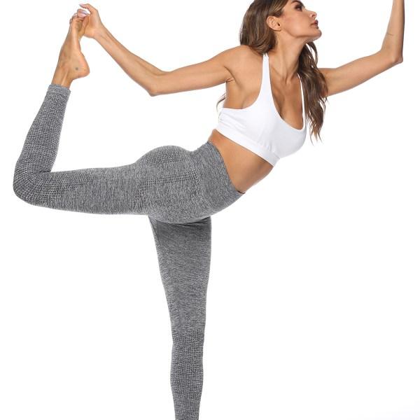 Grey High-Waisted Super Stretch Leggings 2