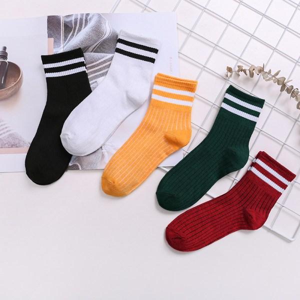 CHRISTMAS SALE Super Soft Stripe Five-piece Socks 2