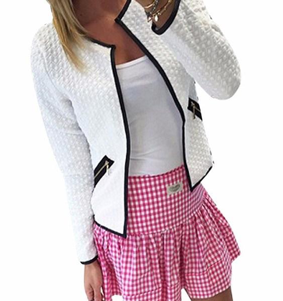 Pocket Design Long Sleeves Coat 2