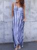 ZANZEA Stripe Spaghetti Strap V-neck Sleeveless Dress 3