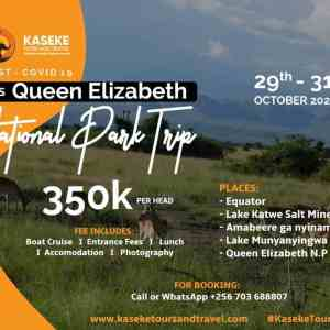 Queen Elizabeth National Park Trip
