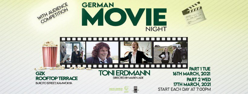 German Movie Night_Toni Erdmann PART 1 & PART 2