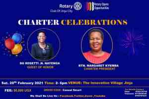 The Rotary Club of Jinja City