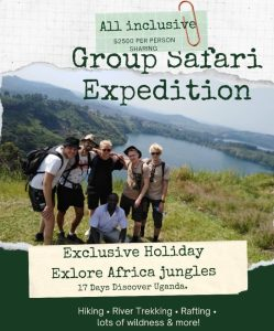 17 DAY GROUP SAFARI AFRICA
