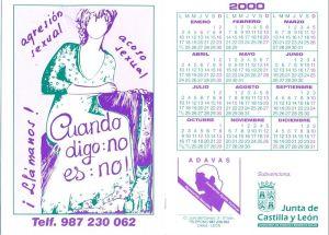 Calendario ADAVAS 2000