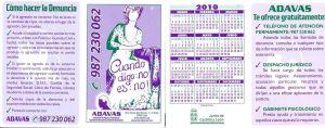 Calendario ADAVAS 2010
